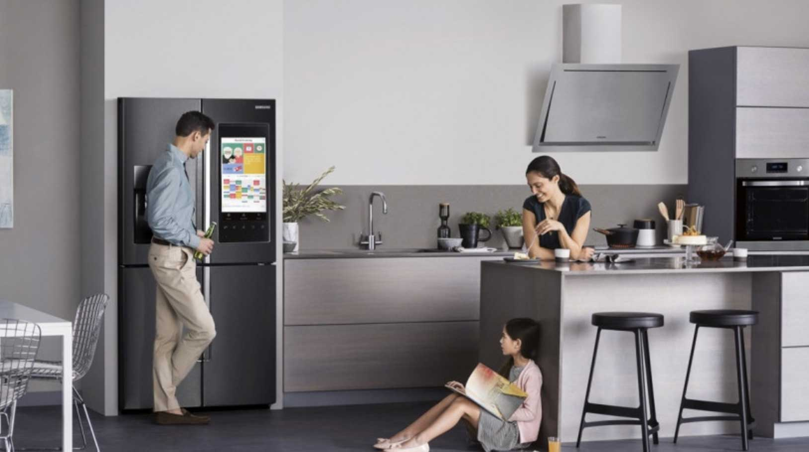 Image showing smart kitchen appliances used in a blog by forthefloorandmore.com