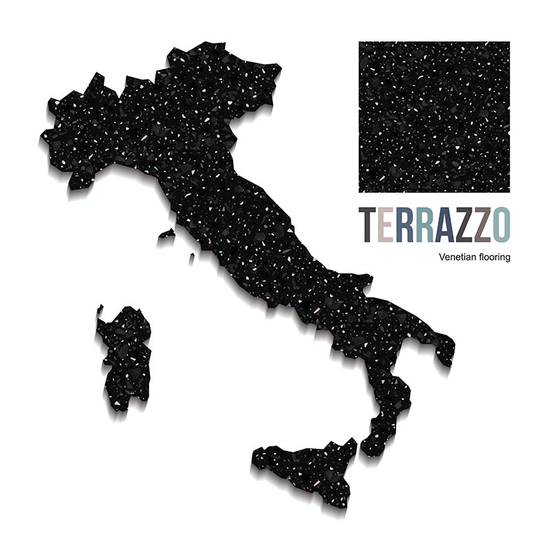 Image of Italy in Terrazzo flooring style in a blog post by forthefloorandmore.com