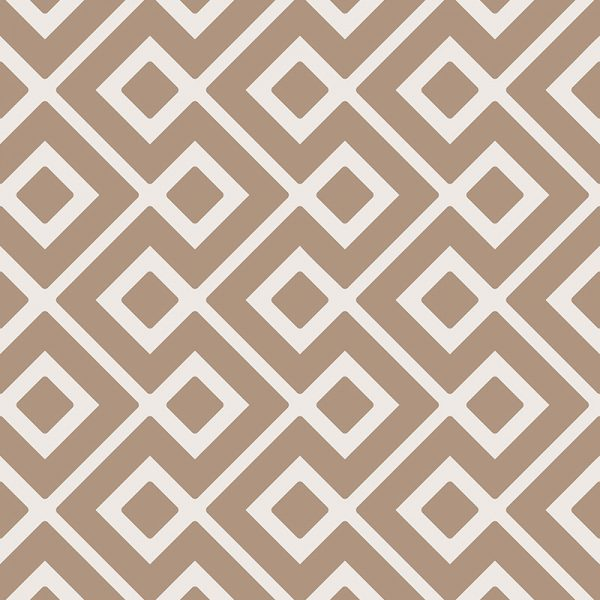 Image of Dahna terracotta coloured patterned vinyl flooring design by forthefloorandmore.com