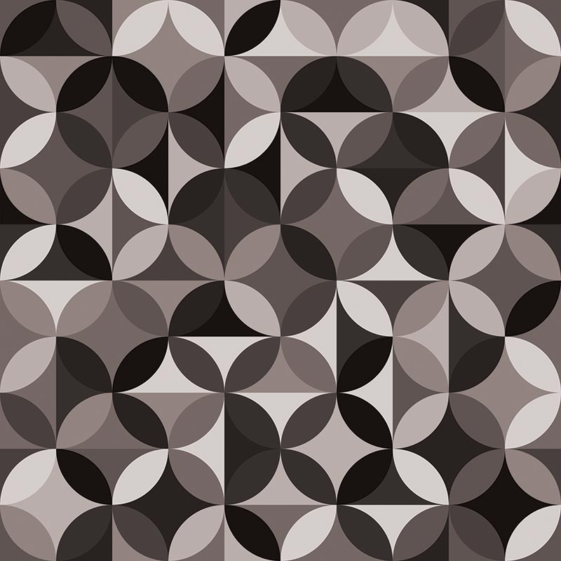 Image of Monton black and white pattern design exclusively from For the Floor and More