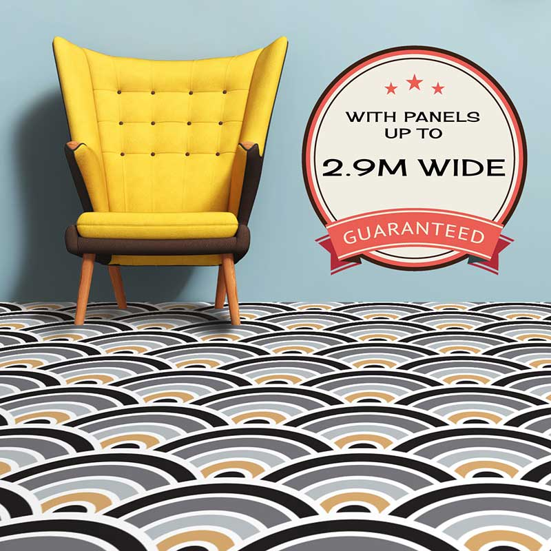 Patterned Vinyl Flooring 30 New Styles To Shake The Floor Under