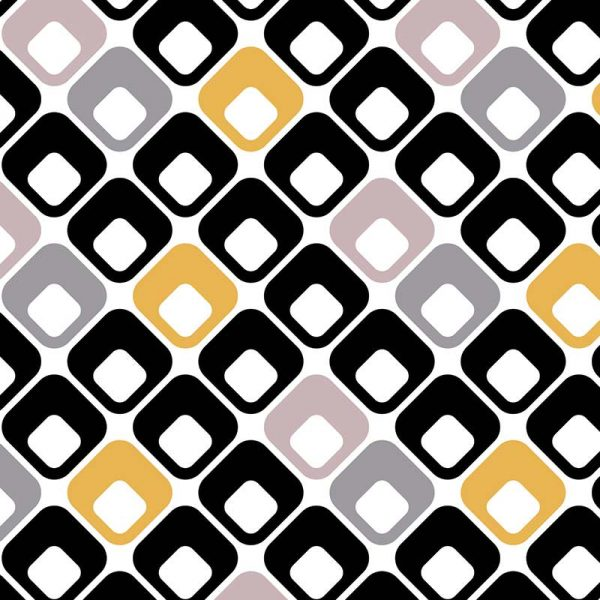Image of Trafford black and white pattern design exclusively from For the Floor and MoreImage of Belmont black and white pattern design exclusively from For the Floor and More