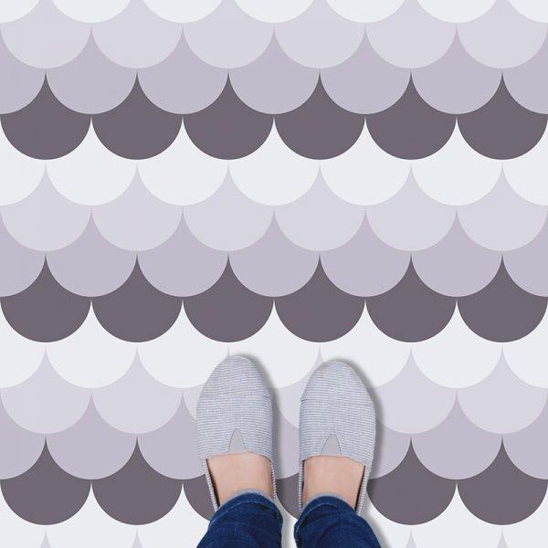 Ines pattern print vinyl flooring