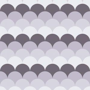 Image of Ines pattern mermaid tile design