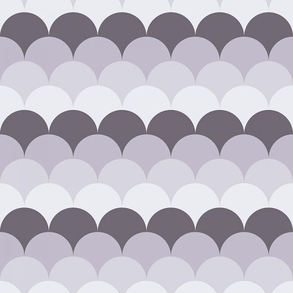Image of Ines pattern mermaid tile design