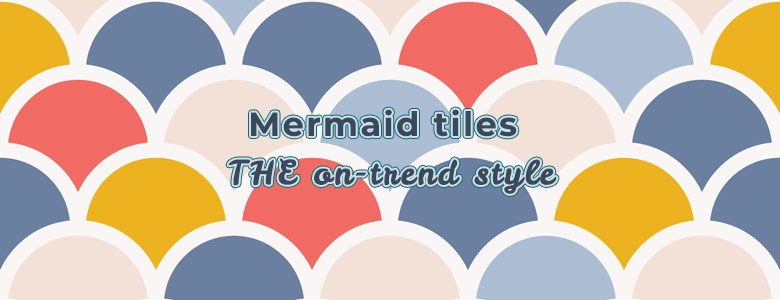 Fish scale tiles and mermaid tiles available exclusively from forthefloorandmore.com
