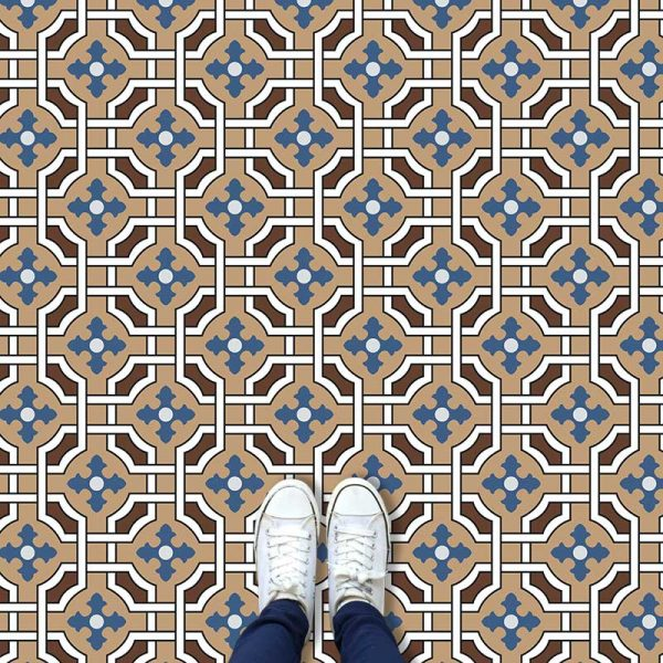 Image of Effie victorian vinyl flooring - oodles of style and impact. A classy interpretation of a distinctive design. Make a real impression with your flooring!