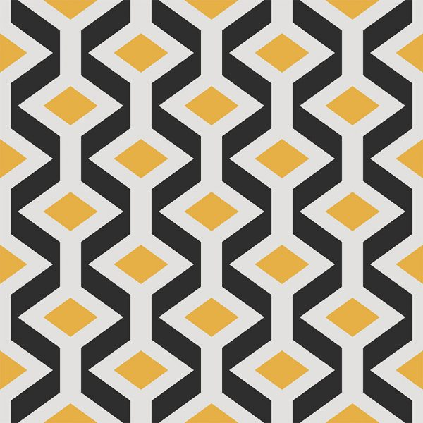 Image of Hoxton geometric flooring exlusively from forthefloorandmore.com
