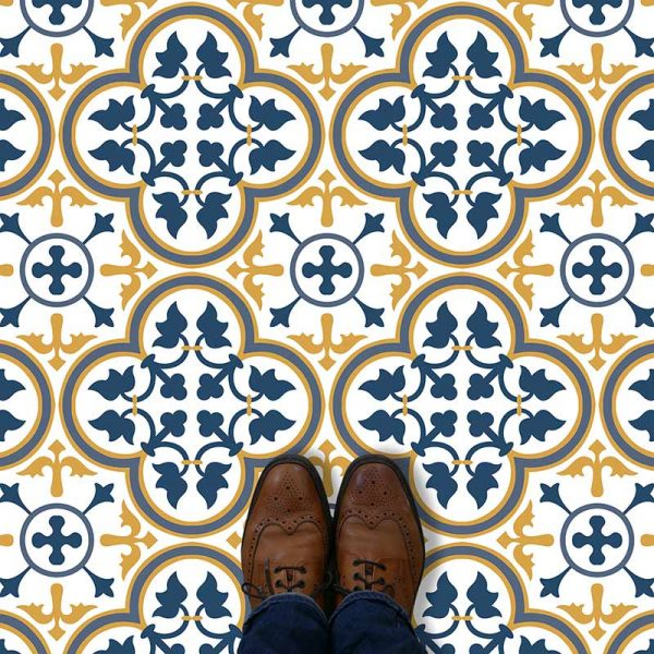 Image of Katie victorian vinyl flooring - oodles of style and impact. A classy interpretation of a distinctive design. Make a real impression with your flooring!