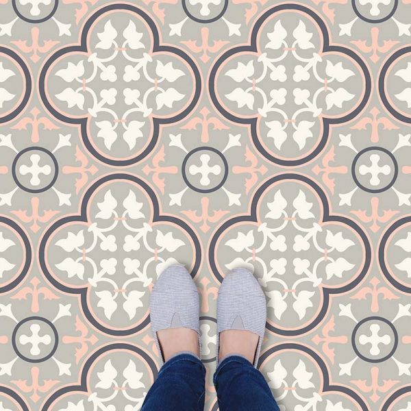 Image of Lottie victorian vinyl flooring - oodles of style and impact. A classy interpretation of a distinctive design. Make a real impression with your flooring!