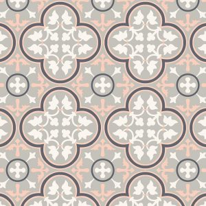 Image of Lottie victorian intricate tile design - oodles of style and impact. A classy interpretation of a distinctive design. Make a real impression with your home decor!