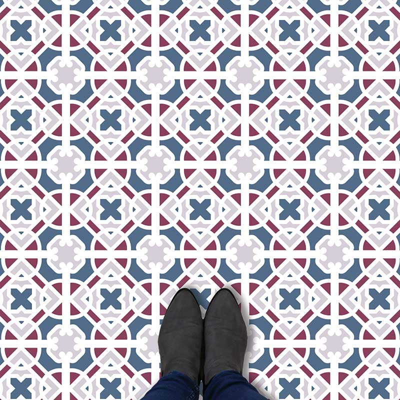 Image of Docia victorian vinyl flooring - oodles of style and impact. A classy interpretation of a distinctive design. Make a real impression with your flooring!