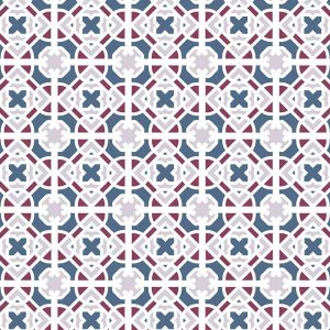 Image of Docia victorian intricate tile design - oodles of style and impact. A classy interpretation of a distinctive design. Make a real impression with your home decor!