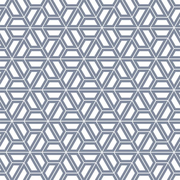 Image of Pimlico printed geometric flooring exlusively from forthefloorandmore.com