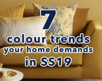The 7 Colours Your Home Demands In SS2019 - A Blog Post By For the Floor & More