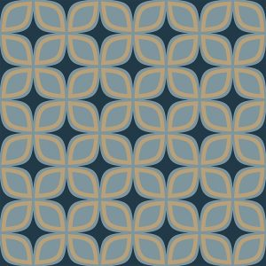 Image of Portland printed geometric Feature Tile, flooring or splashback exclusively from forthefloorandmore.com