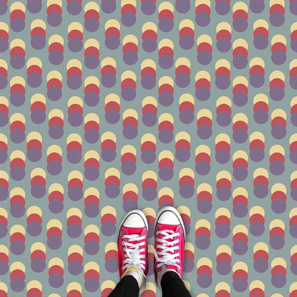 Image of Fairfield geometric flooring exlusively from forthefloorandmore.com