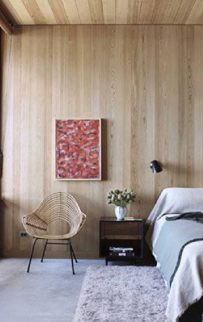 Image showing modern wood panelling used in a style guide for SS19 from forthefloorandmore.com