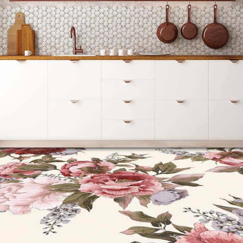 Carin floral flooring from forthefloorandmore.com