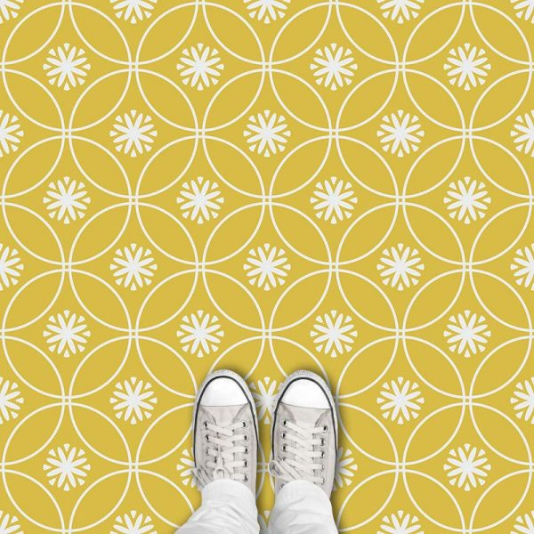 Cerro cuban inspired pattern printed geometric flooring exclusively from forthefloorandmore.com