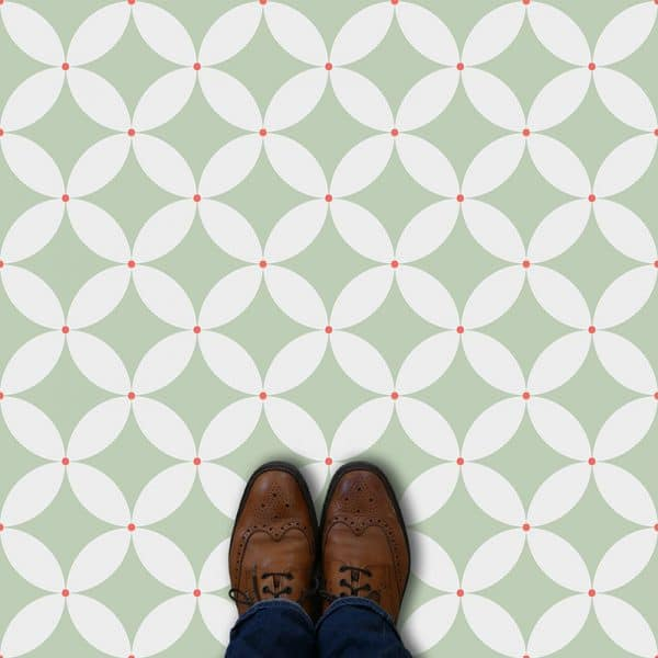 Image of Meja geometric flooring exclusively from forthefloorandmore.com