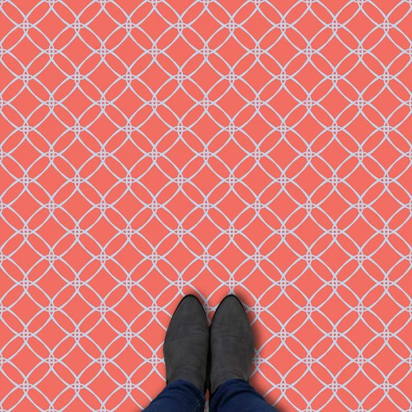 Image of Joline geometric flooring exclusively from forthefloorandmore.com