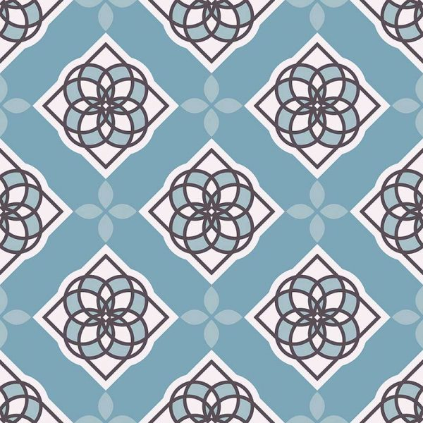 Ina pattern printed geometric flooring exclusively from forthefloorandmore.com