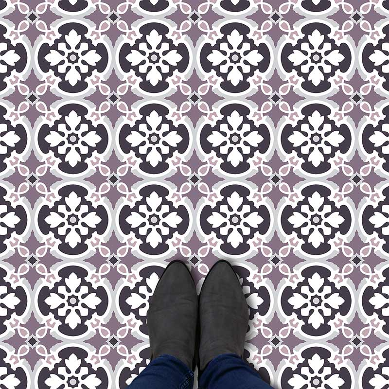Alta pattern printed geometric flooring exclusively from forthefloorandmore.com