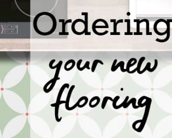How to order patterned vinyl flooring - A how-to post by forthefloorandmore.com