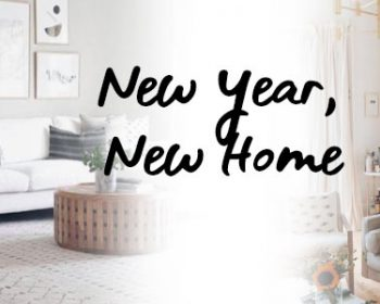 Featured image for New Year, New Home blog post from forthefloorandmore.com