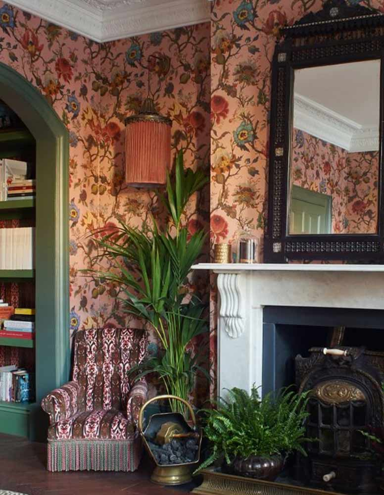 Wallpaper ideas for the new year and your new home from forthefloorandmore.com