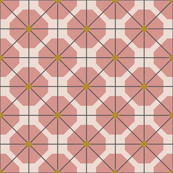 Pema pattern printed geometric design exclusively from forthefloorandmore.com