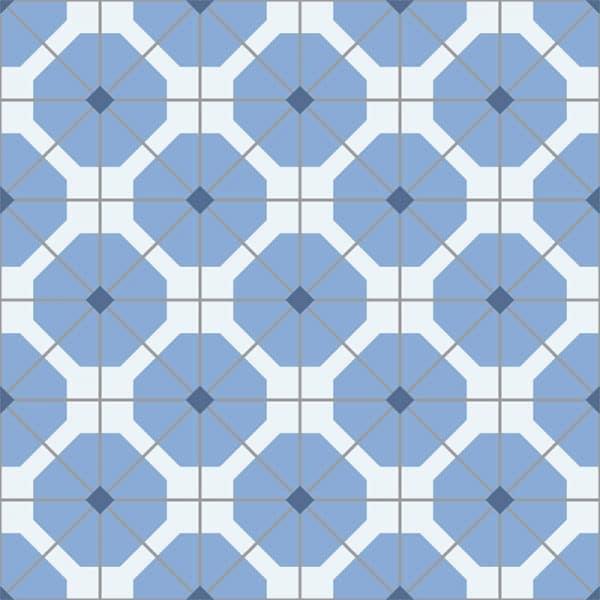 Penthia pattern printed geometric design vinyl flooring exclusively from forthefloorandmore.com