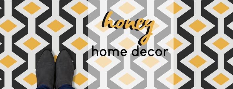 Honey home decor - a blog post by forthefloorandmore.com
