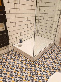 Customer photo of Dora pattern flooring from forthefloorandmore.com