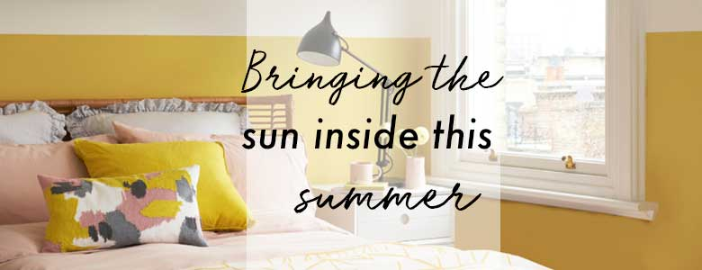 Bringing the summer sun inside this season - A summer home decor ideas post from forthefloorandmore.com