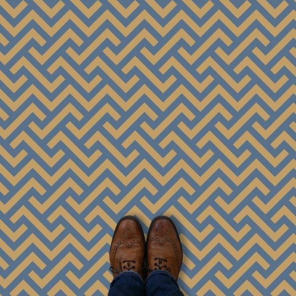 Vestra parquet style pattern printed geometric design vinyl flooring exclusively from forthefloorandmore.com