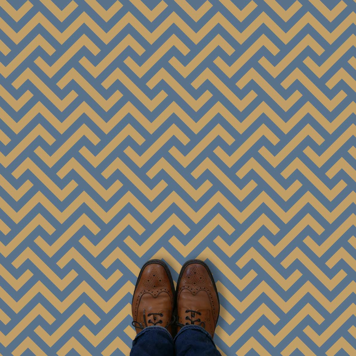 Vestra parquet style pattern printed geometric design vinyl flooring exclusively from forthefloorandmore.com