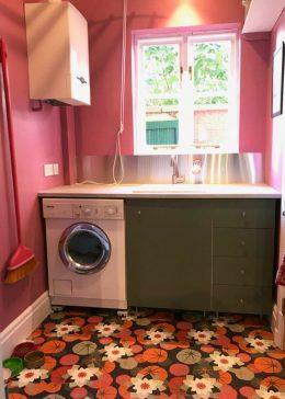 Customer photo of Chloe pattern flooring from forthefloorandmore.com