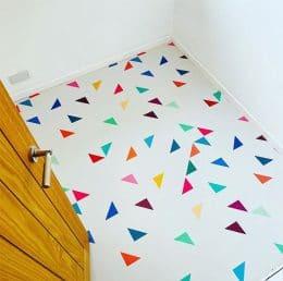 Customer photo of a Gaia pattern flooring from forthefloorandmore.com
