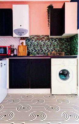 Customer photo of Atik pattern flooring from forthefloorandmore.com